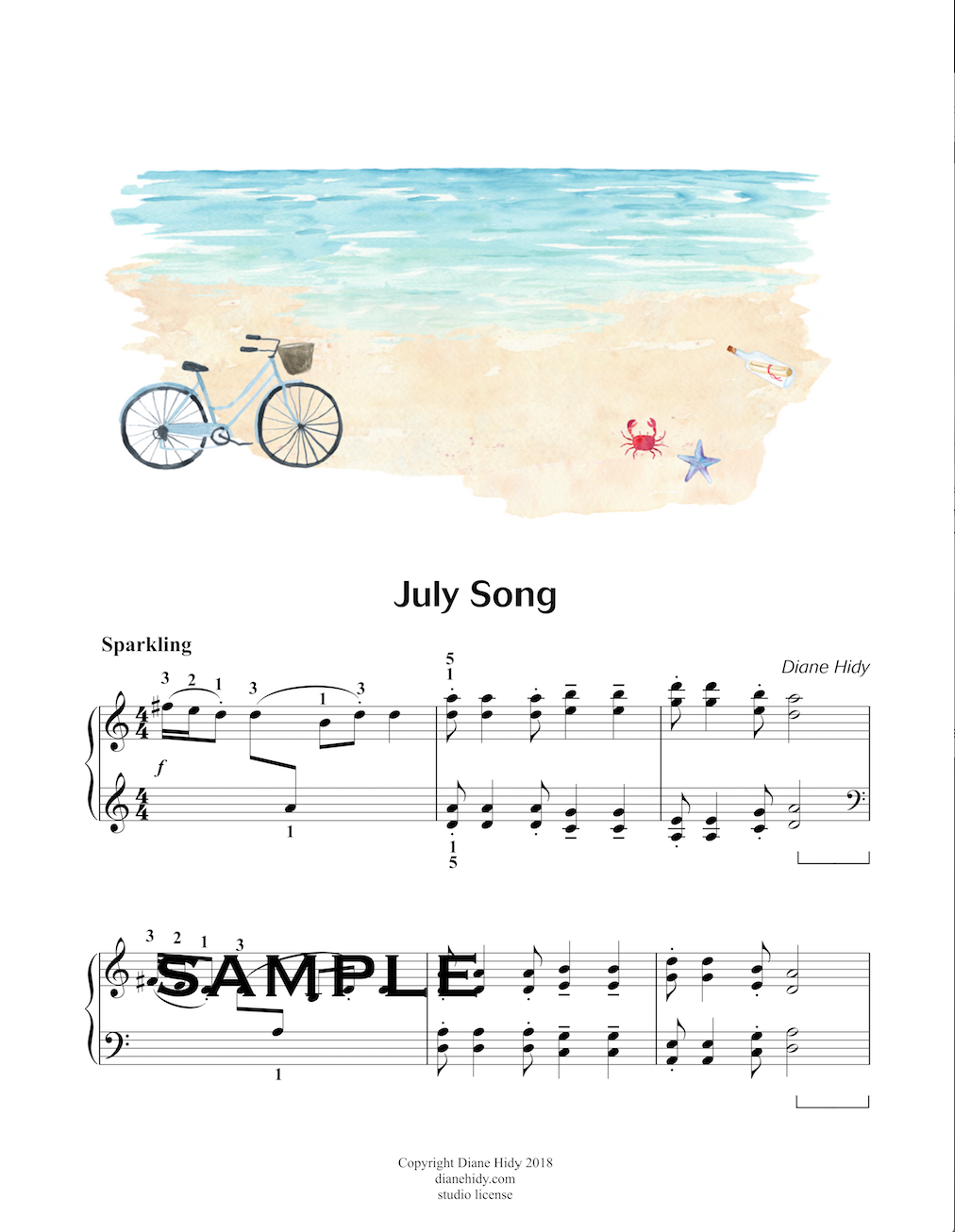 July Song (Studio License)