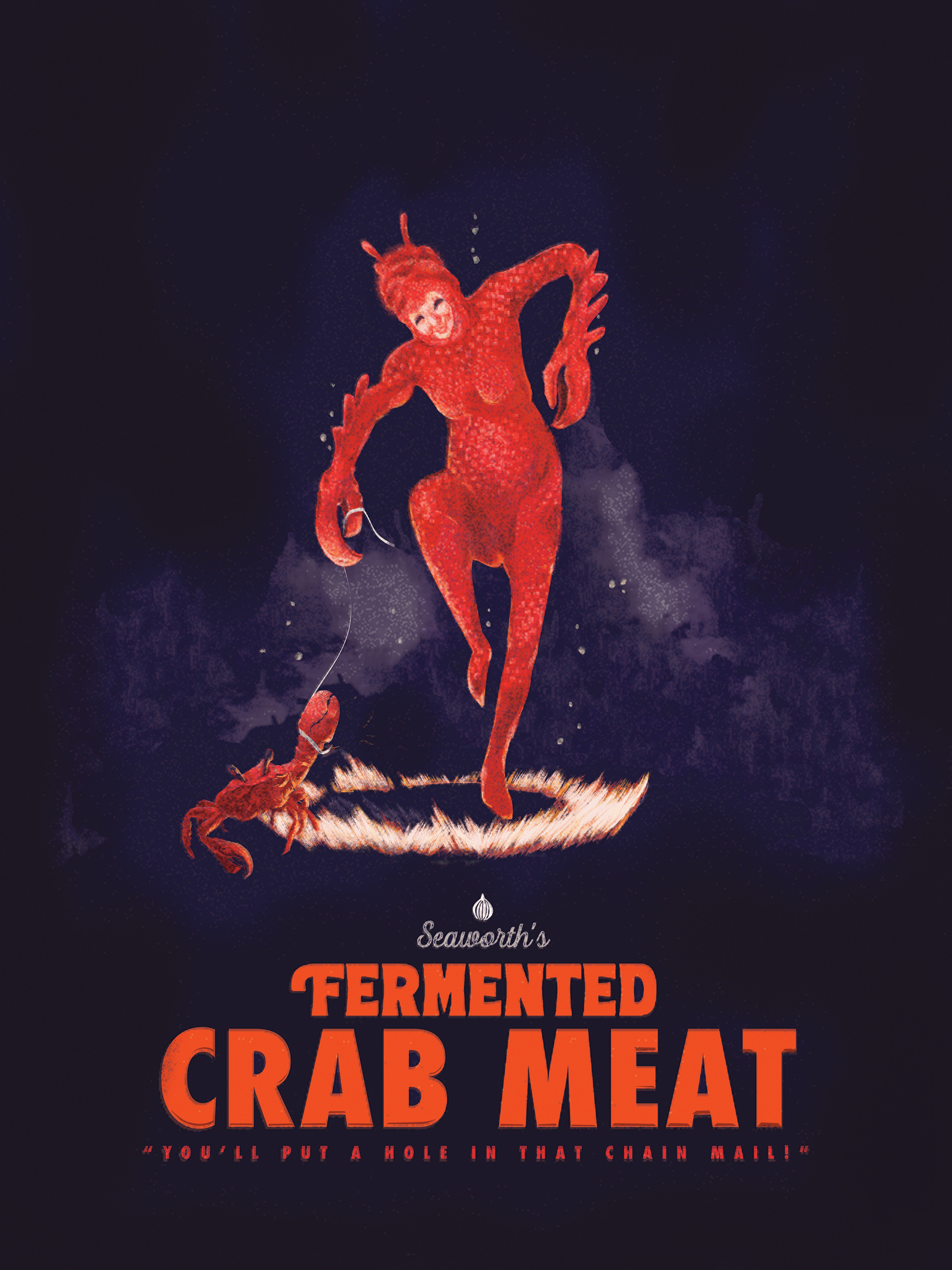 Fermented Crab Meat