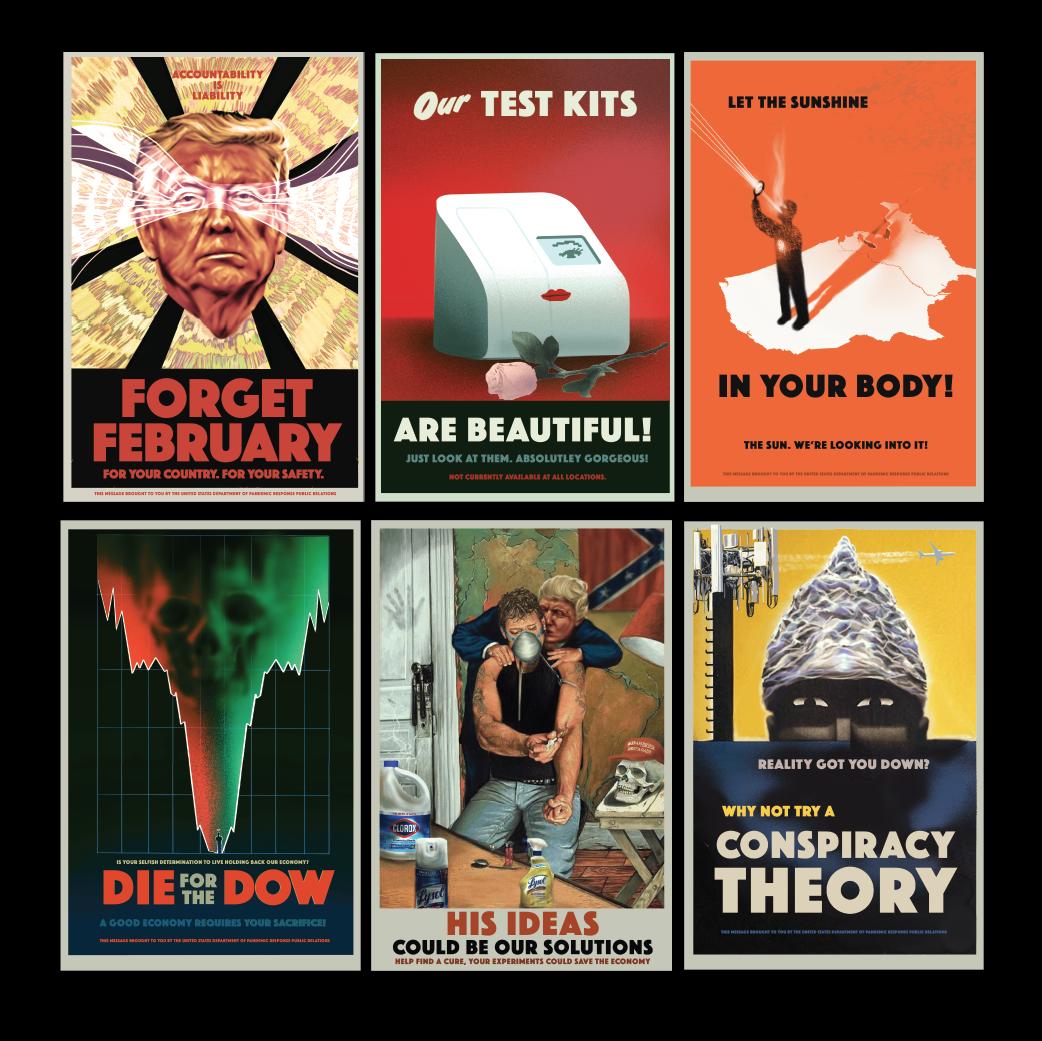 Covid Propaganda set