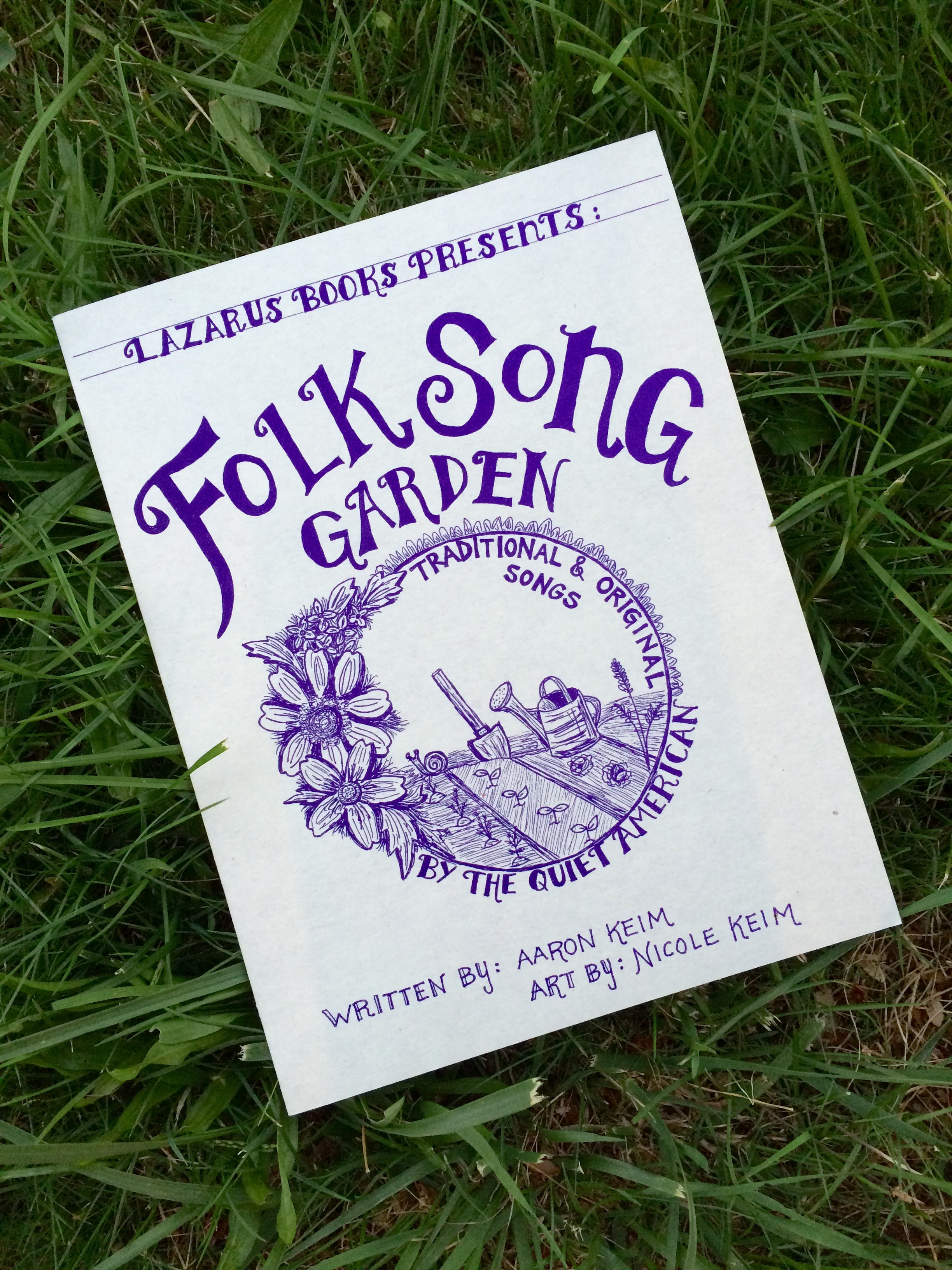 Folk Song Garden Book — the quiet american