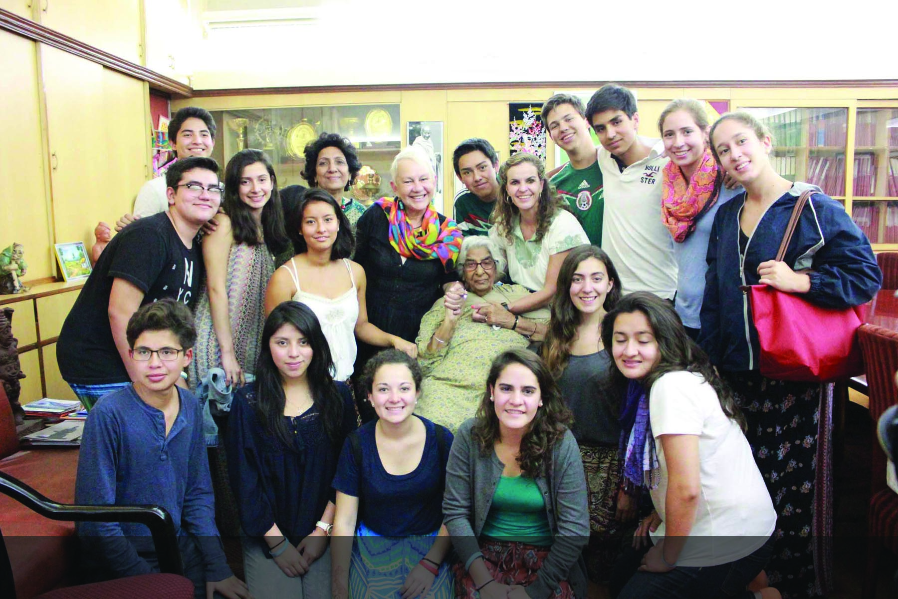 The East meets West - Olinca School, Mexico with Founder Principal, Ma'am Soni
