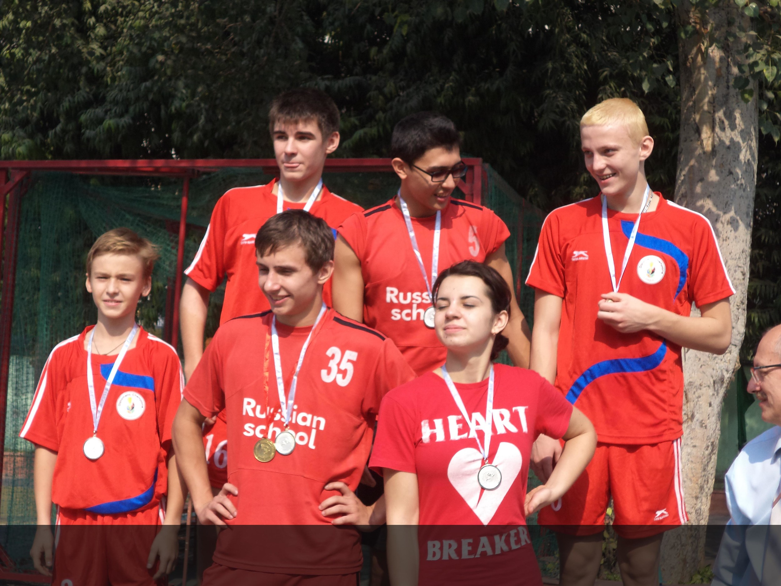 International Friendship Sports Meet, Russian School