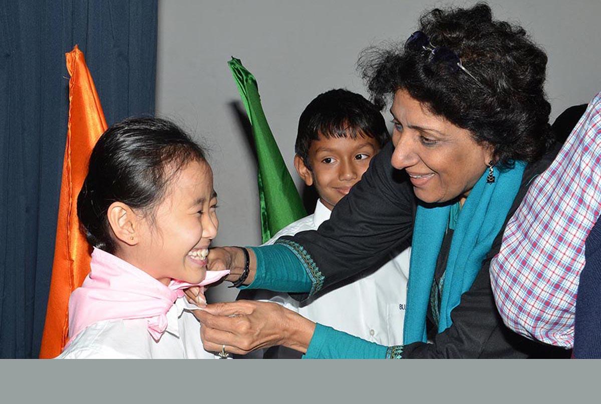 Jr. Prefectorial Handing Over Ceremony