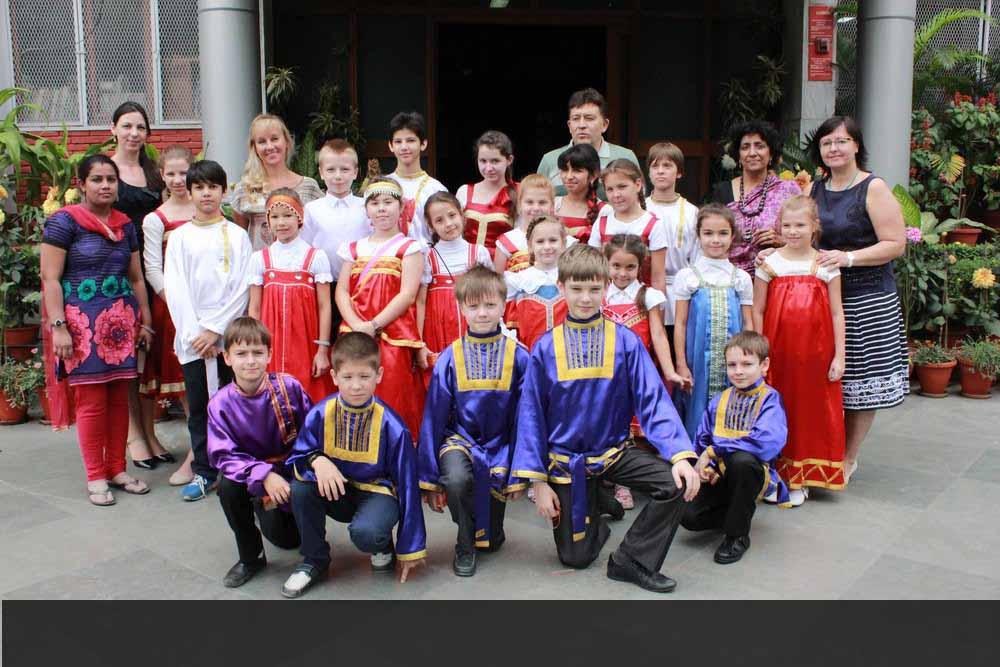 Pushkin Day Celebrations - Russian Embassy School, New Delhi