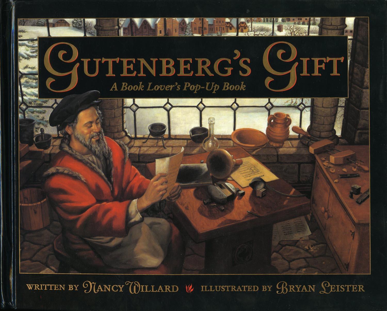Gutenberg's Gift: A Book Lover's Pop-Up Book — Wonderland Books