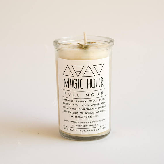 CANCER Astrological Candle Mason Jar Soy Green Horoscope Handmade in the USA
