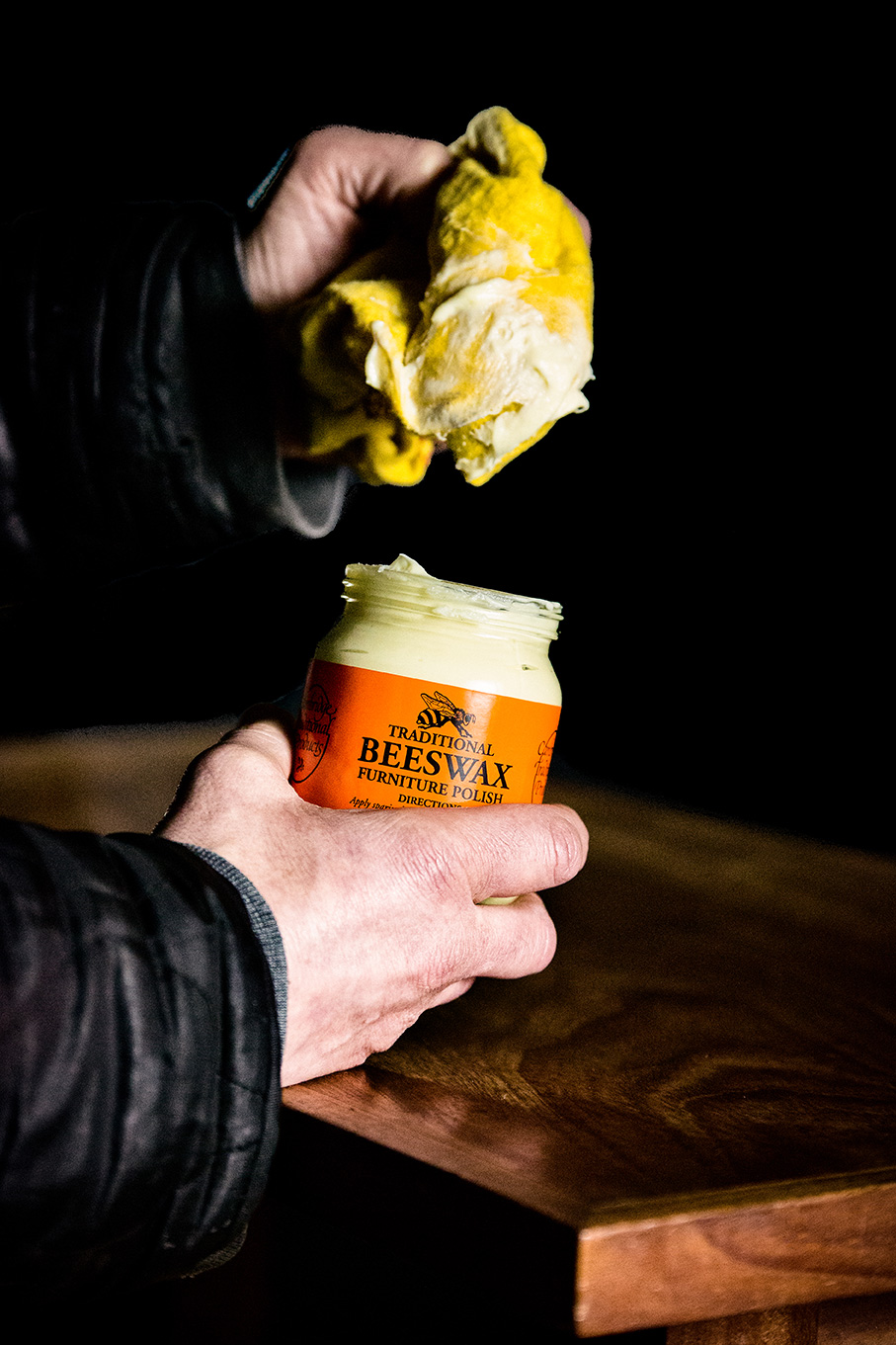 Beeswax Furniture Polish — Cambridge Traditional Products