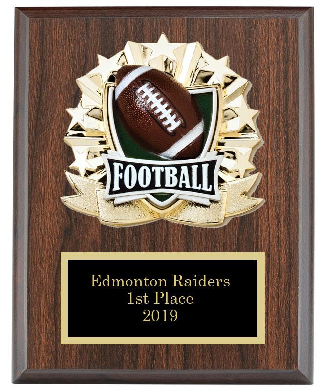 Football//Fantasy Football Award Plaque 8x10 Trophy