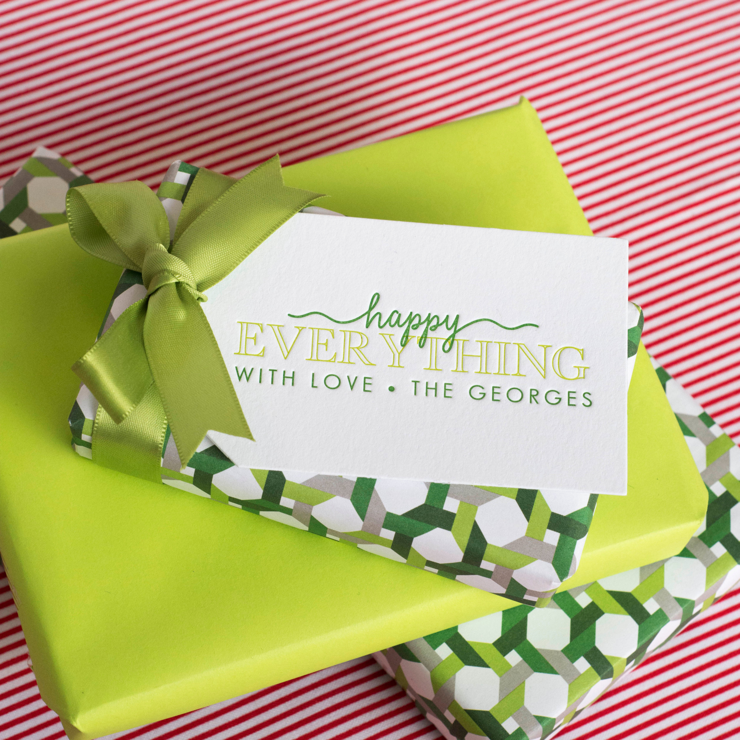 Personalized Gift Tag T238 Haute