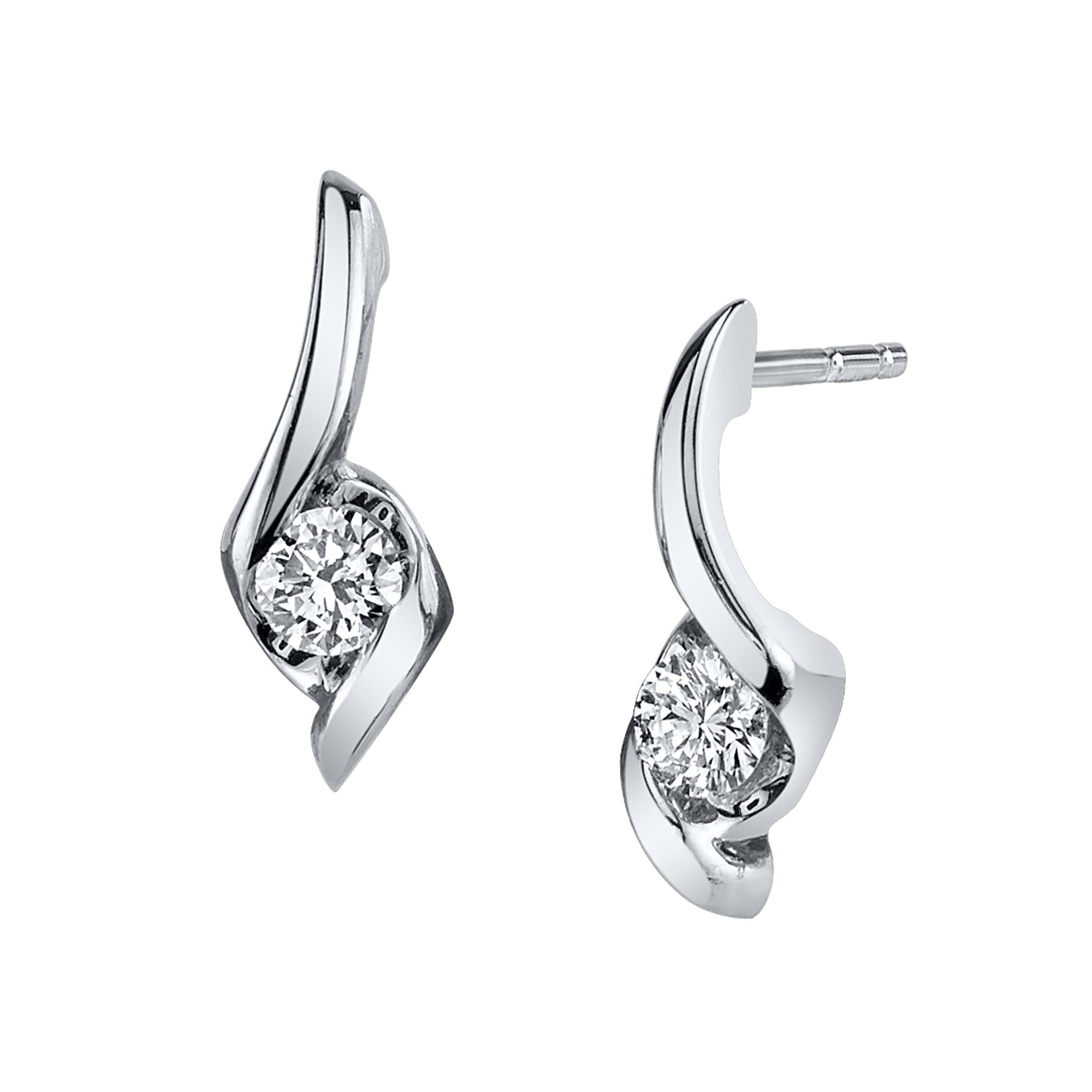 Diamond Earrings Robert Laurence Jewelers