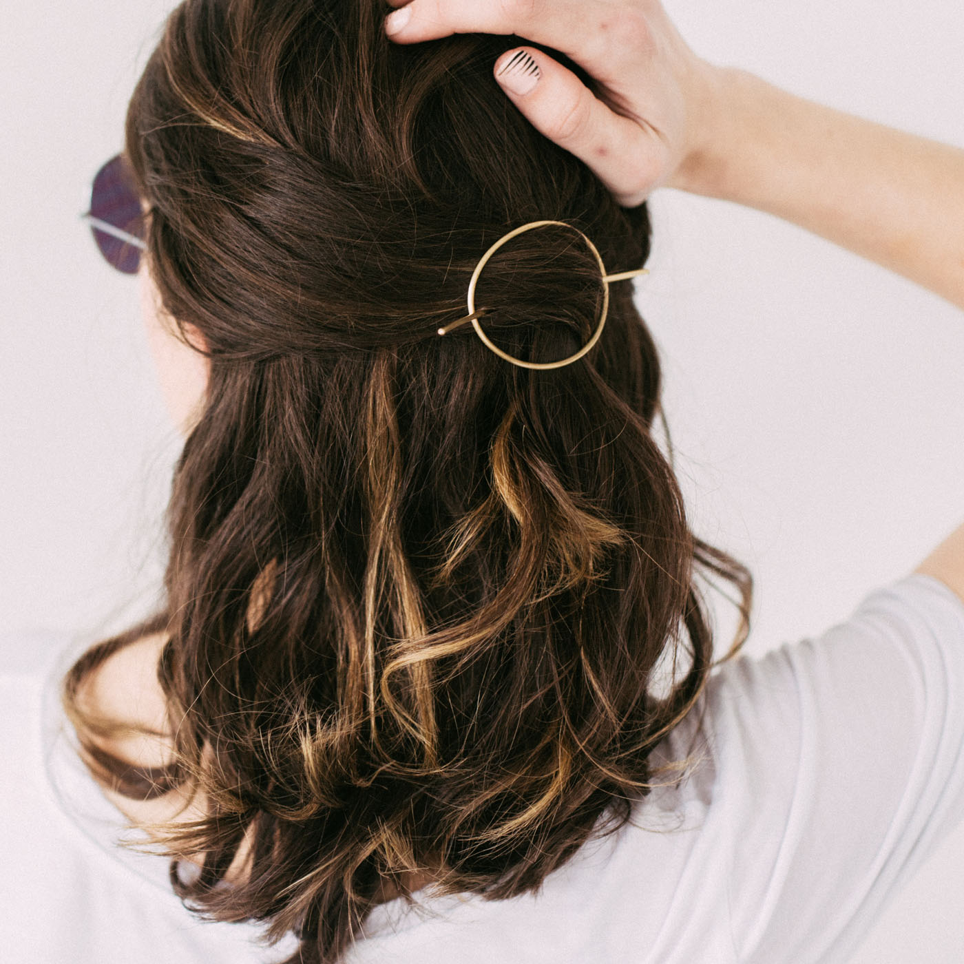 Orbital Hair Pin for Curly + Thick Hair — Favor Jewelry