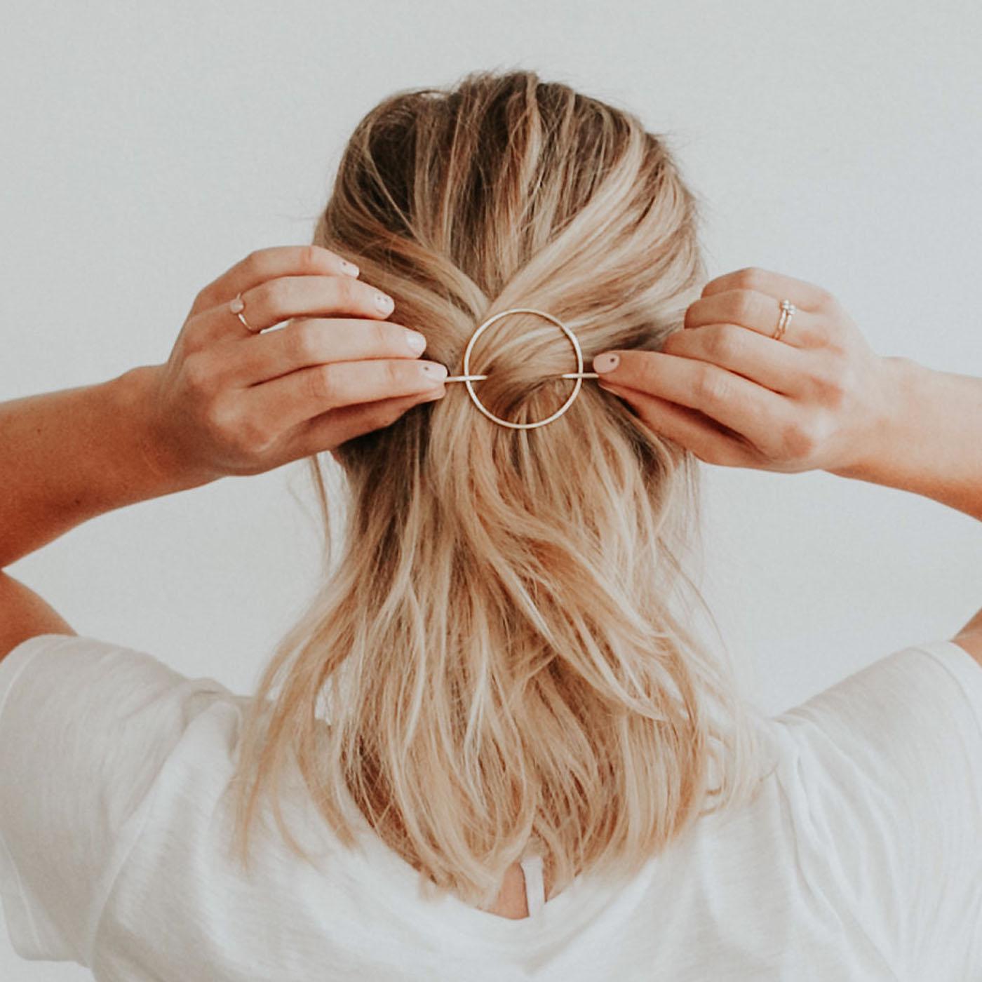 Mini Orbital Hair Pin for Wavy + Straight Hair — Favor Jewelry