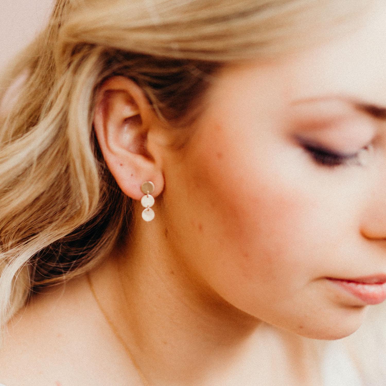 0b2a00f2e Minimal Disc Transit Earrings — Favor Jewelry