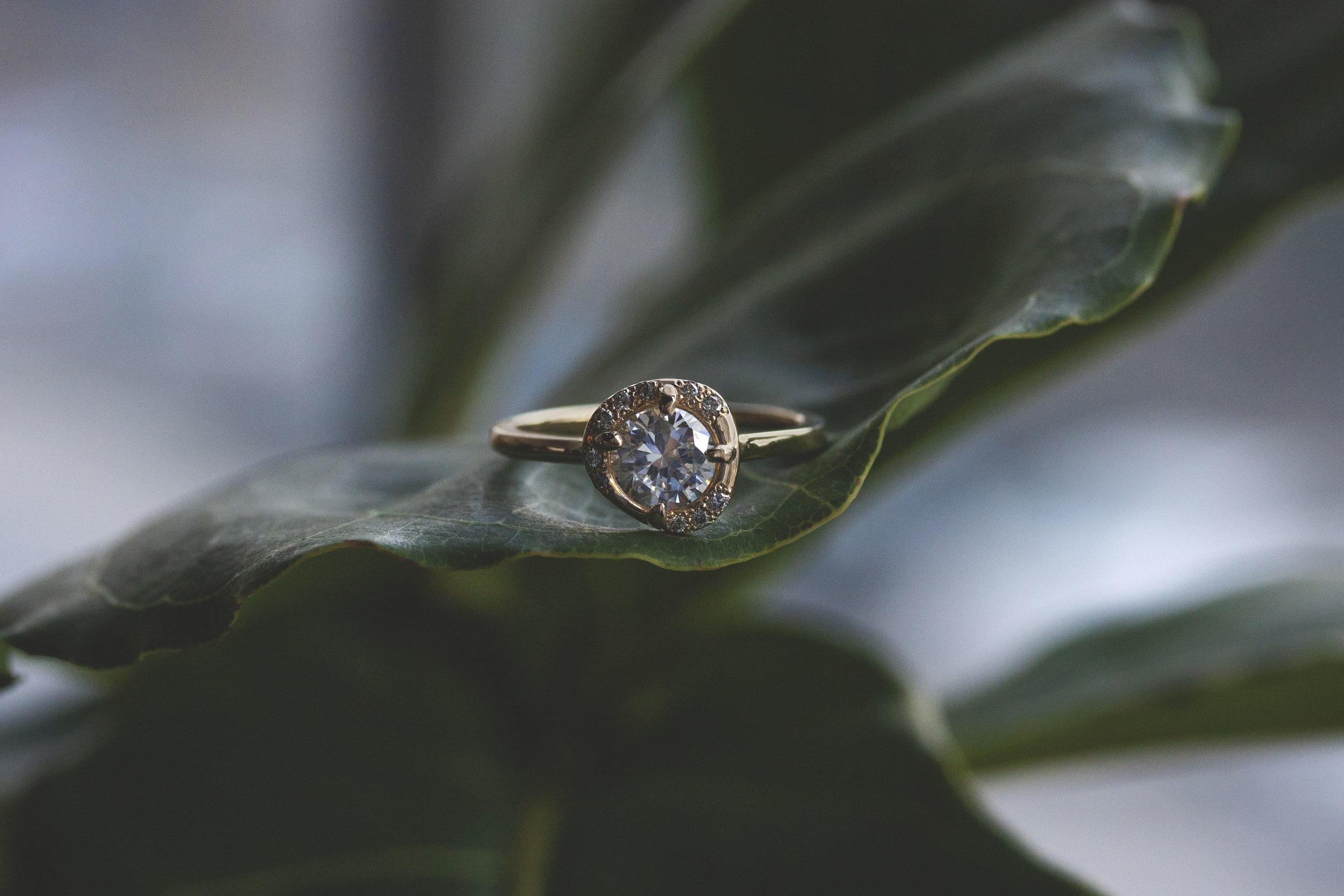 Aura Engagement Ring — Emily Chelsea Jewelry