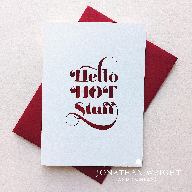 Hello Hot Stuff Jonathan Wright And Company