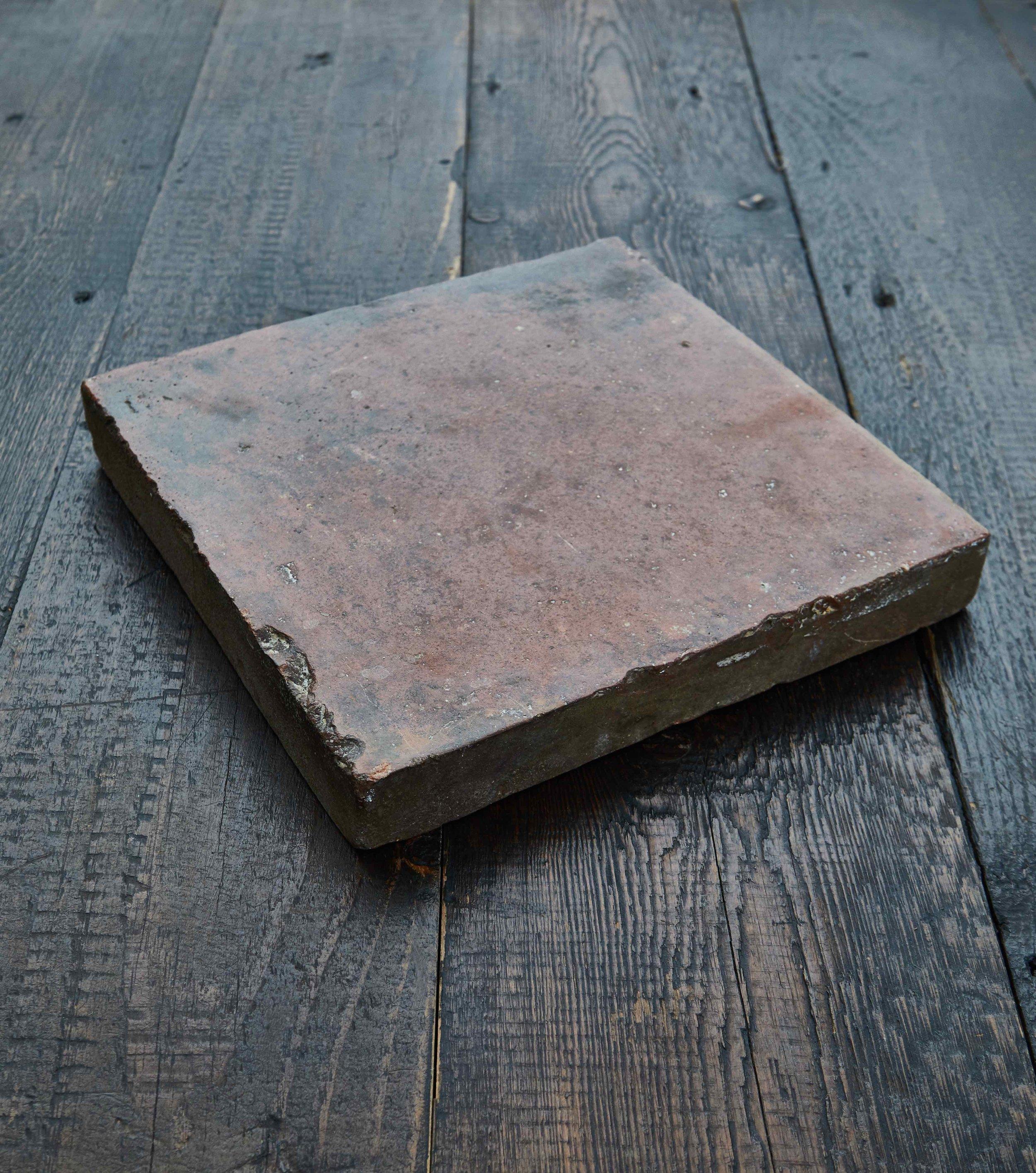 Reclaimed Orange 9 inch Quarry Tiles - price per m² — Mark Lewis Interior  Design
