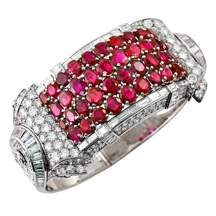 Platinum Bangle Bracelet