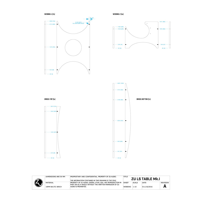 Zu Loudspeaker Assembly Table Design Zu Audio