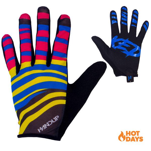 Gloves - Summer Lite - Zebra Party — HANDUP | Mountain Bike Gloves | For  MTB, Gravel, CX and More!