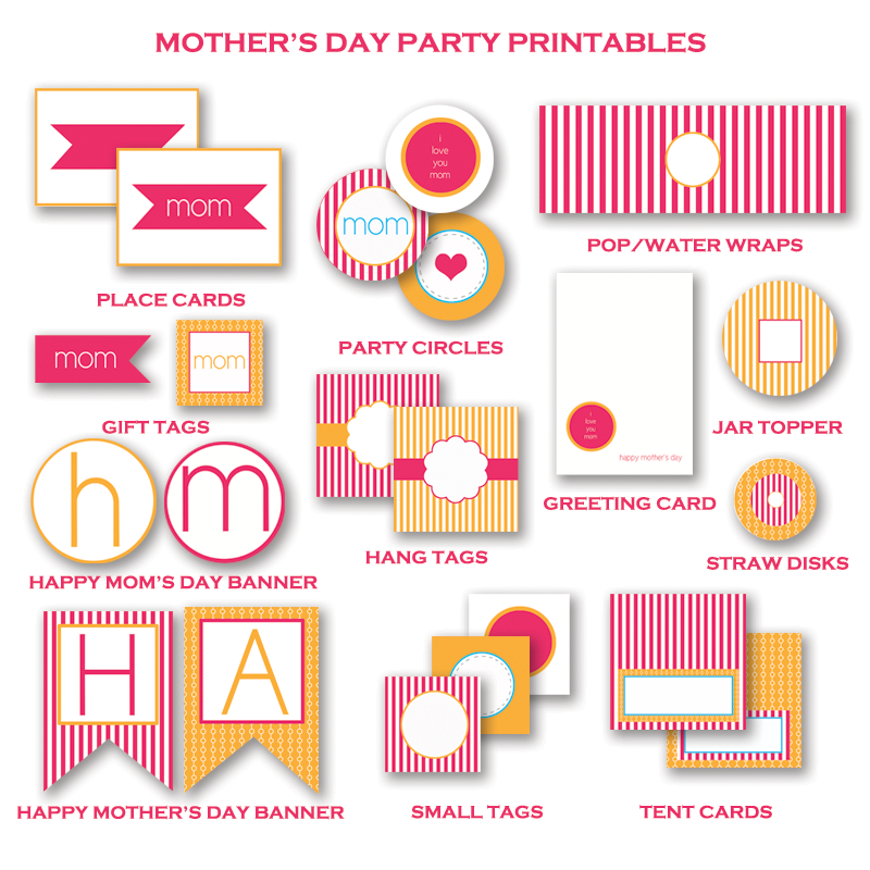 photograph about Mom Printables referred to as Moms Working day Celebration Printables Kristi Murphy Do it yourself Website