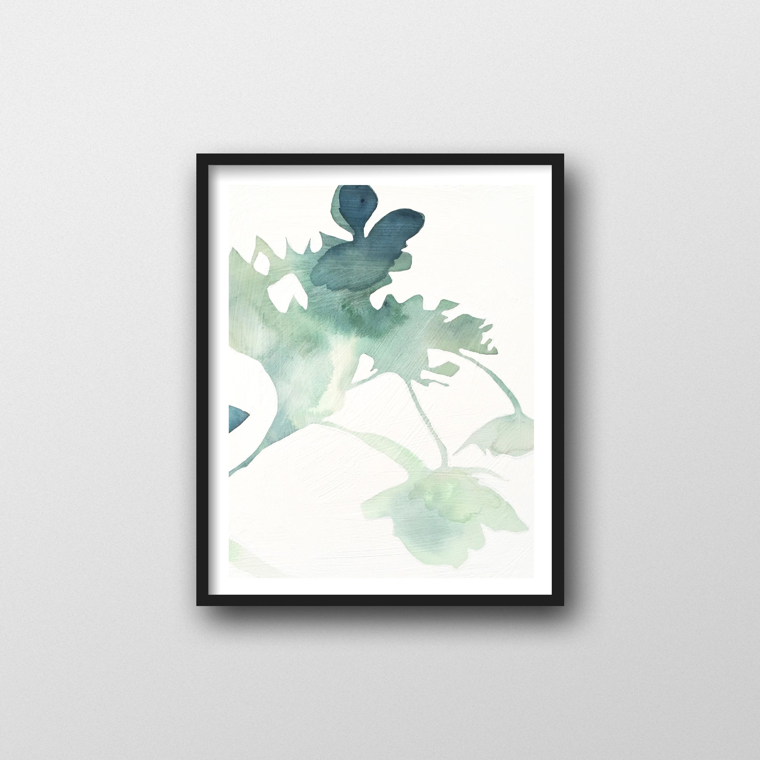 Flower Watercolor Art Print Botanical Art 11x14 For Plant