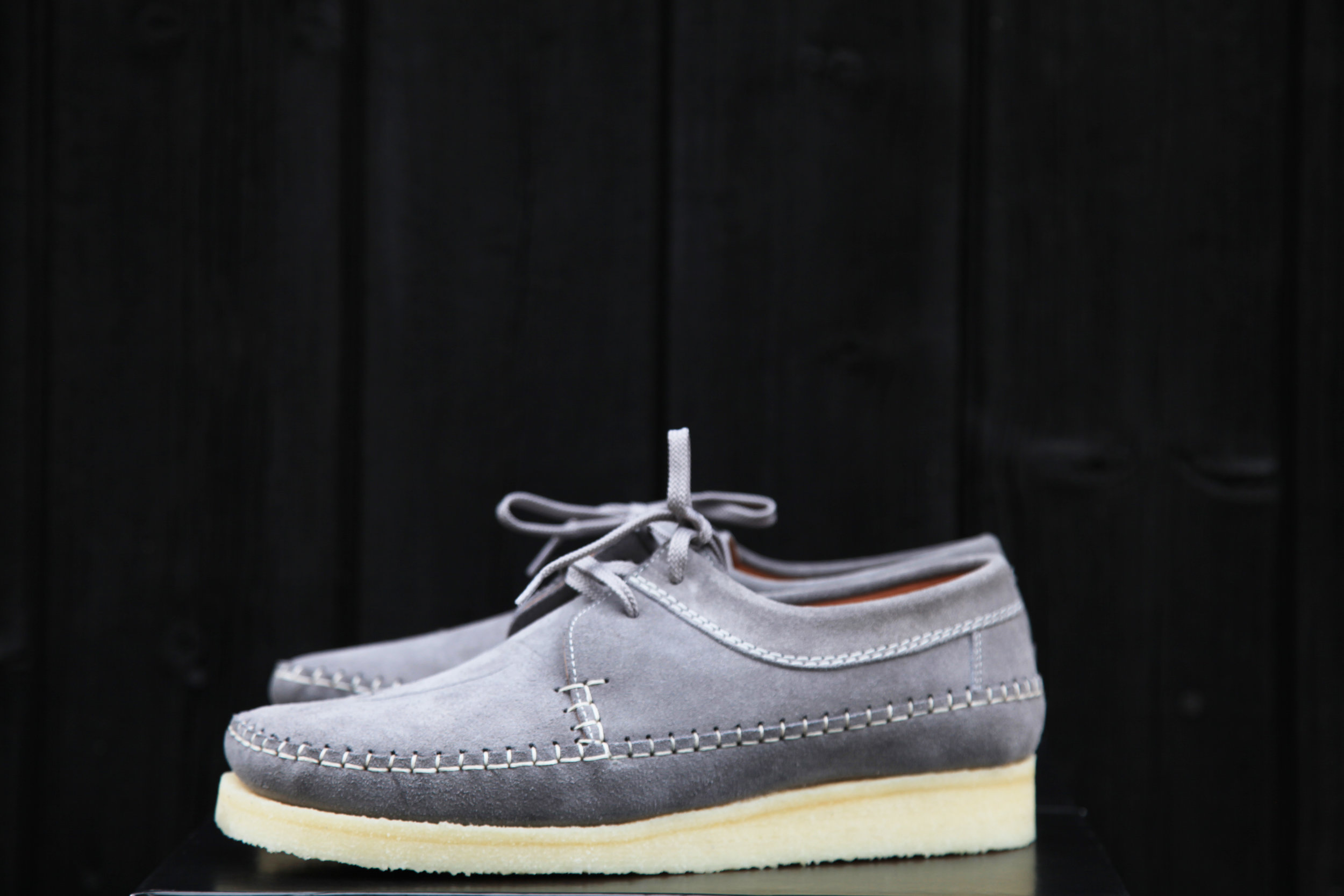 Padmore And Barnes M387 Grey Suede All That Is Left