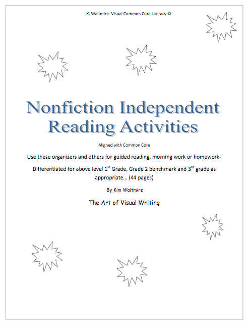 Nonfiction Independent Reading Activities — Visual Creative Classroom  Literacy