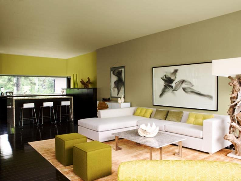 Living Room Painting — Color Theory | Bloomington Painters