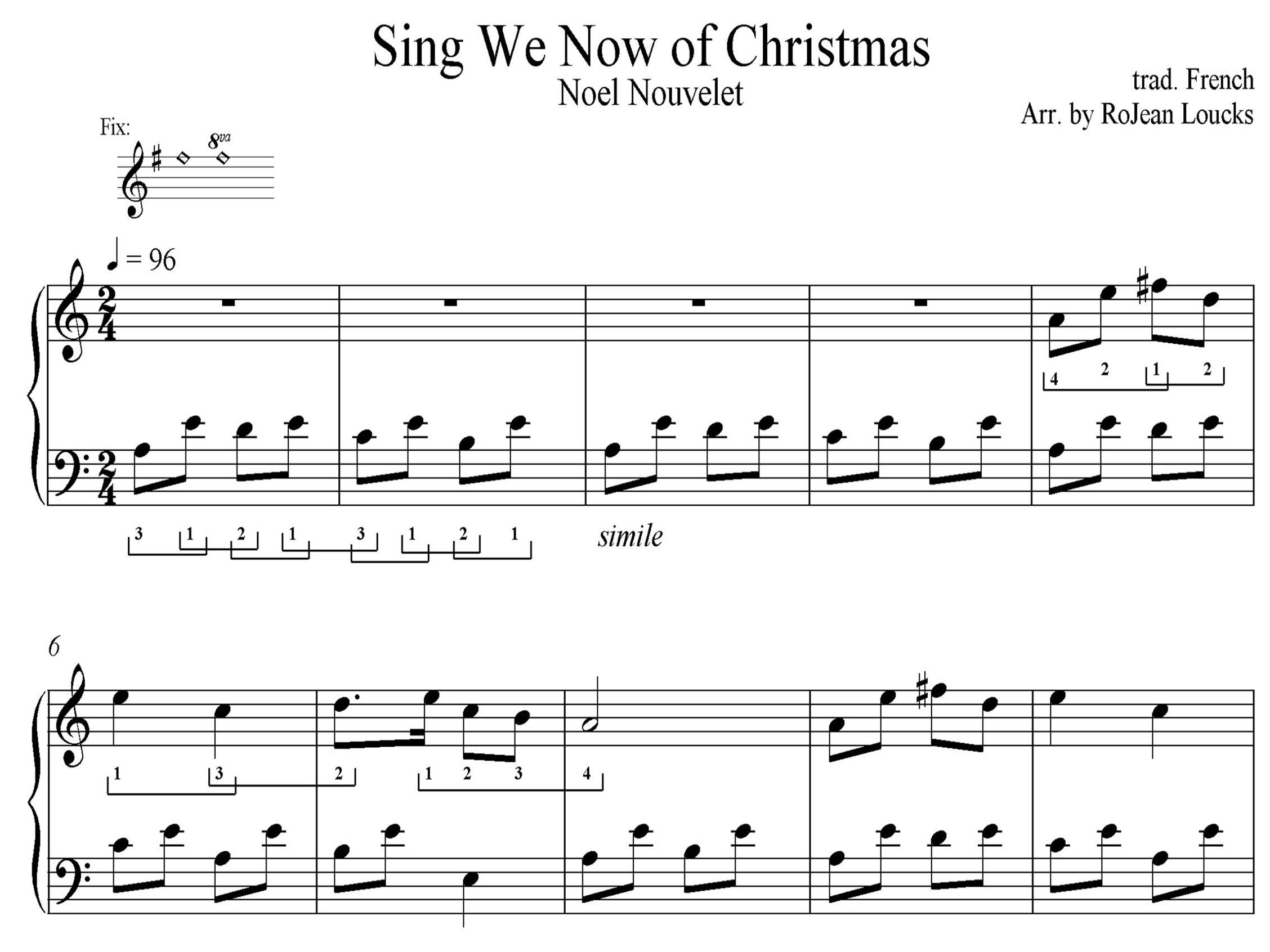 Sing We Now Of Christmas.Sing We Now Of Christmas Rojean Loucks Harpist