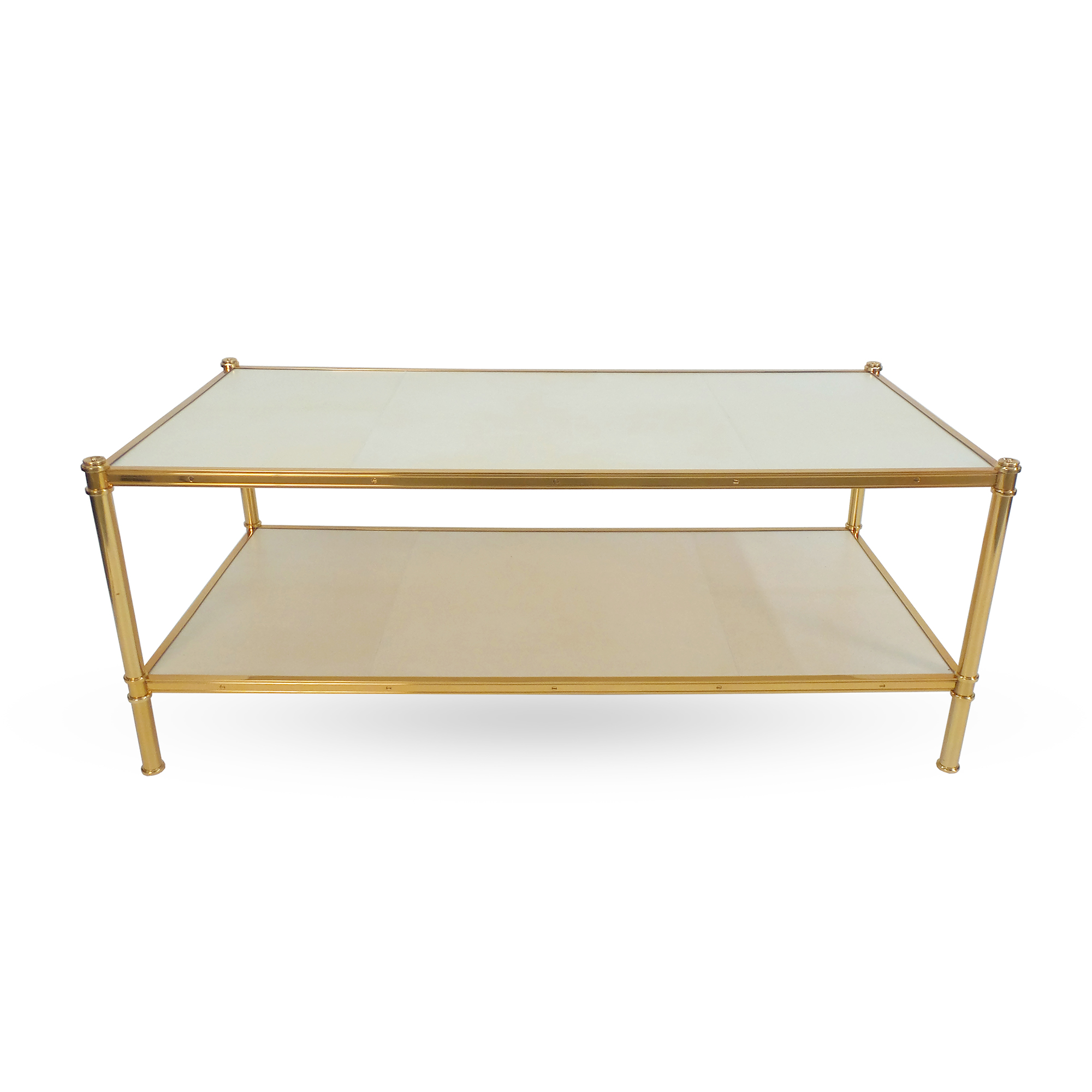 Rose Gold Cole Porter Coffee Table Victoria Son