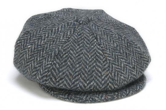 43601d188 8 Piece Herringbone Cap from Hanna Hats of Donegal — Irish Moon
