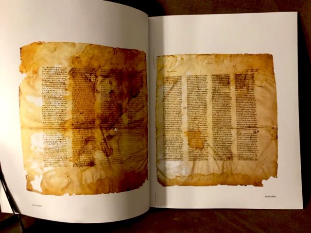 Codex Sinaiticus — A  P  Manuscripts