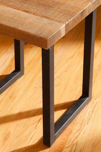 Square Metal Table Bench Bar Legs Blue Ridge Works
