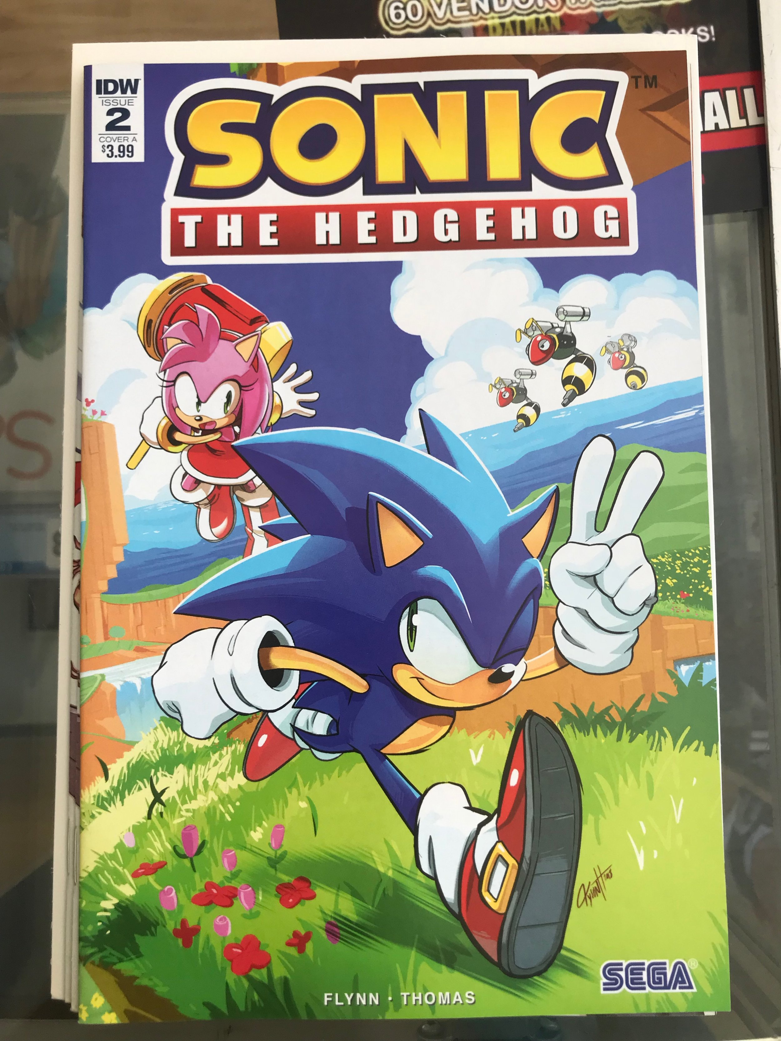 Sonic The Hedgehog #2 NM 1st Print