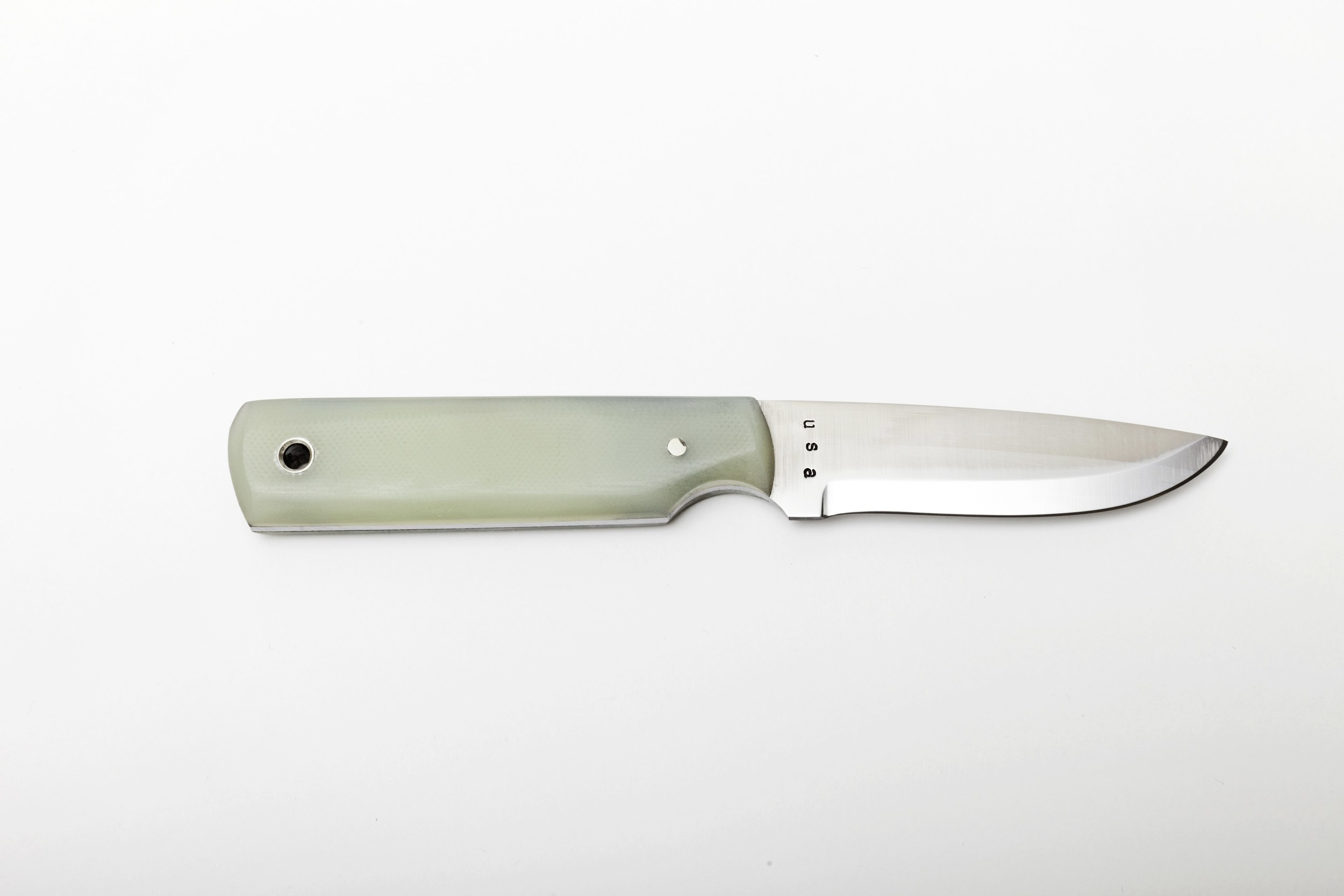 Horse Carbon Steel Camping Knife (Sea Glass) — horse