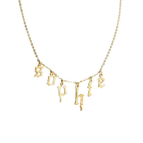 8d06e33e23ec9 THE GOTHIC CHOKER NECKLACE DG X THE M — The M Jewelers