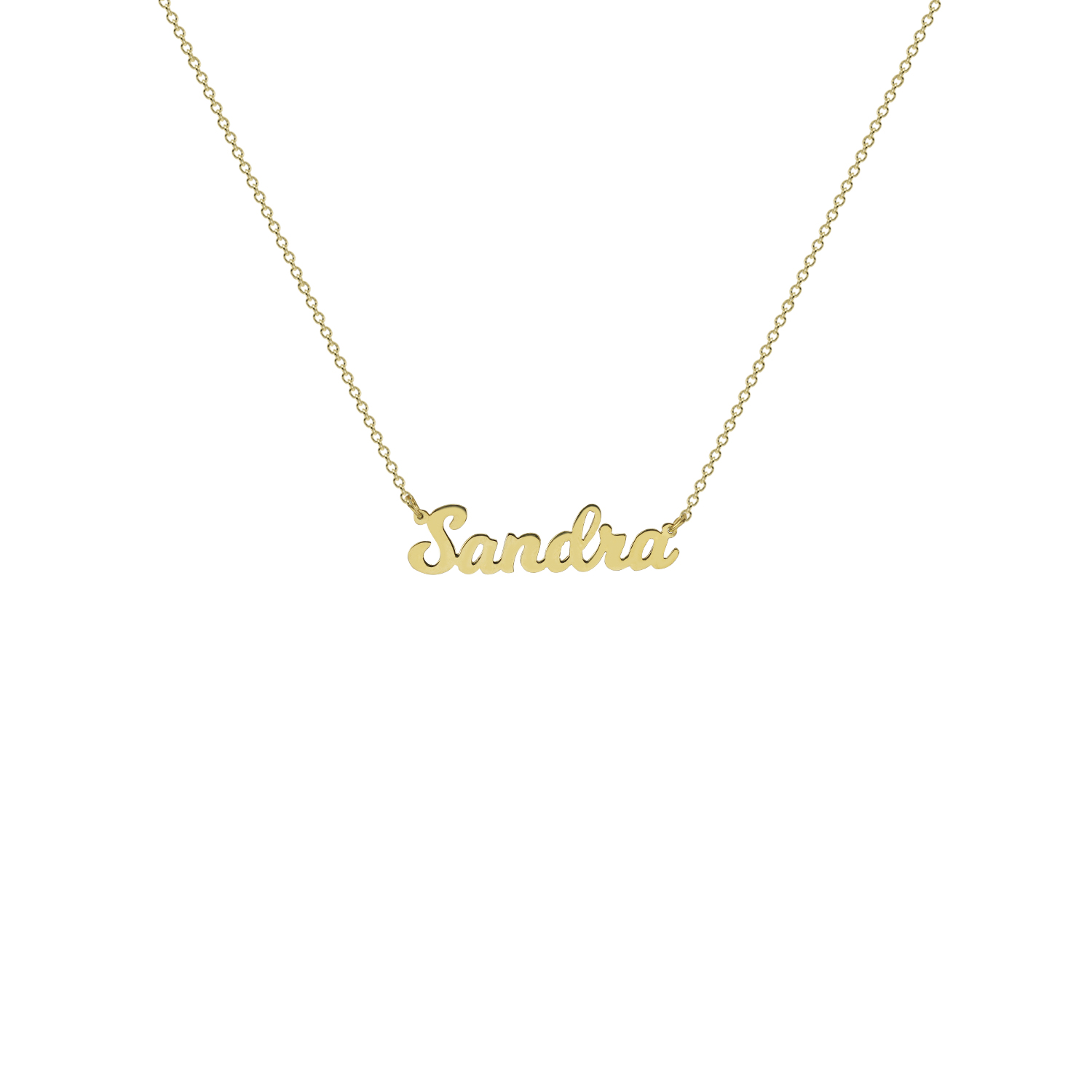 The Nameplate Necklace The M Jewelers