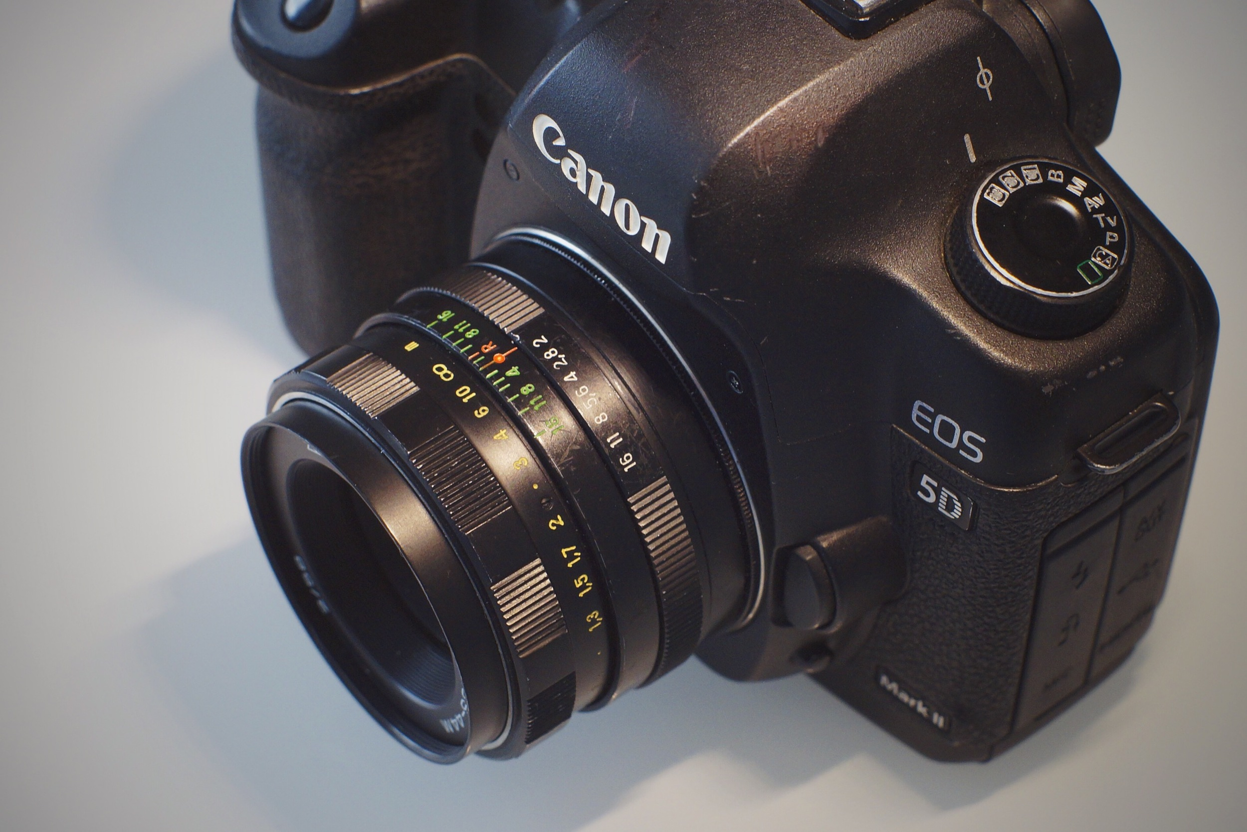 Helios 58mm f2 0 SLR lens - Modified with Anamorphic Bokeh, Flare/Streak  (Canon mount) — Vid-Atlantic Media Productions