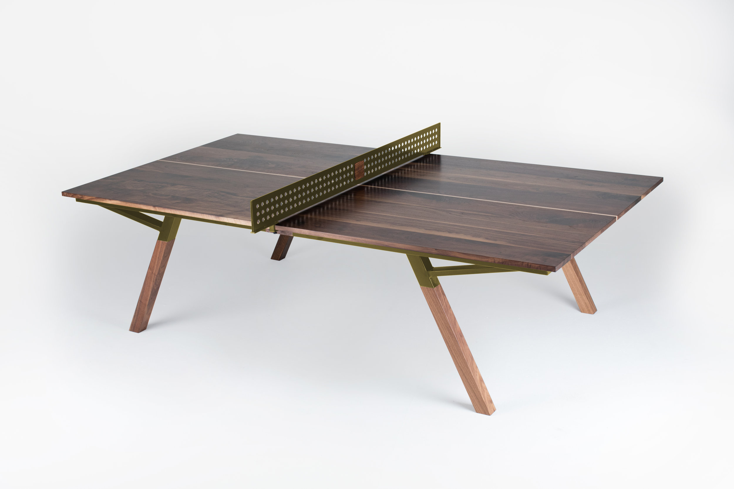 Woolsey Ping Pong Table Black Walnut Multiple Colors Sean Woolsey