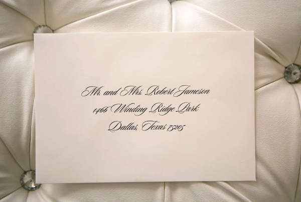 Envelope Addressing — Best Dallas Wedding Planning and Custom Wedding  Invitations