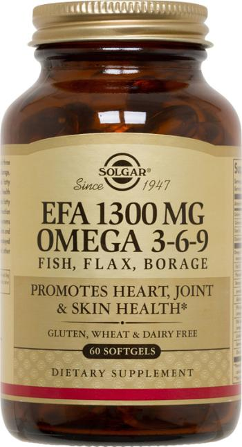 Solgar Efa 1 300 Mg Omega 3 6 9 Softgels The Organic Market