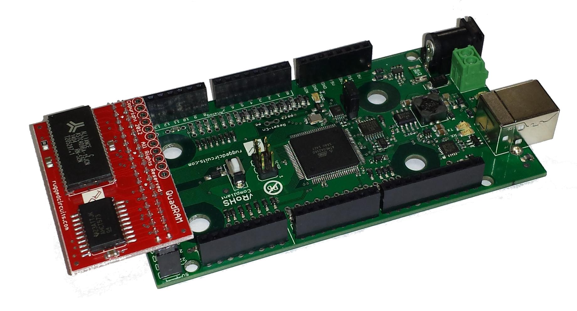 QuadRAM — Rugged Circuits