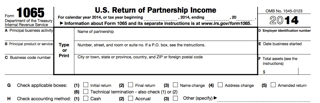 form 1065 for llc  Standard Partnership or LLC Return - Form 10 — Wilson Financial - Wealth  Management and Financial Planning