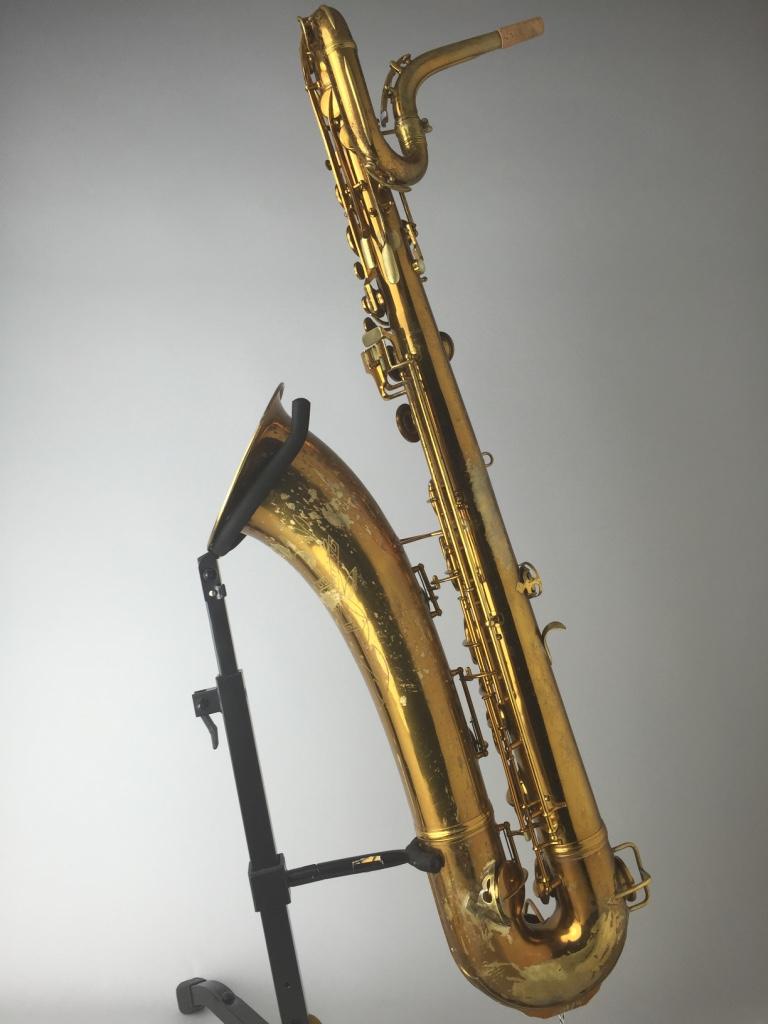 Barnard Instrument Repair — Conn 12M Baritone Saxophone 275xxx