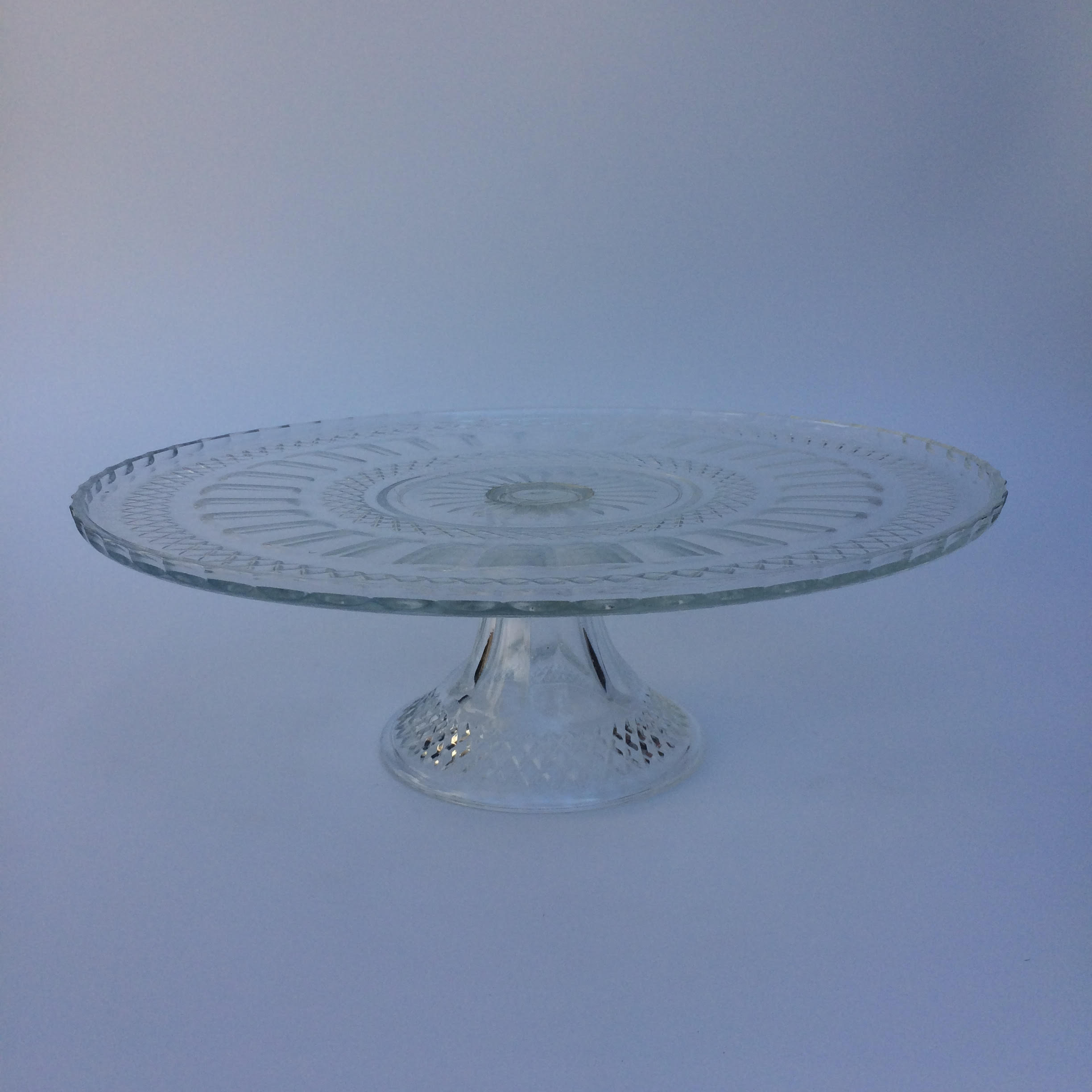 Antique Gl Cake Stand Hire Burnt