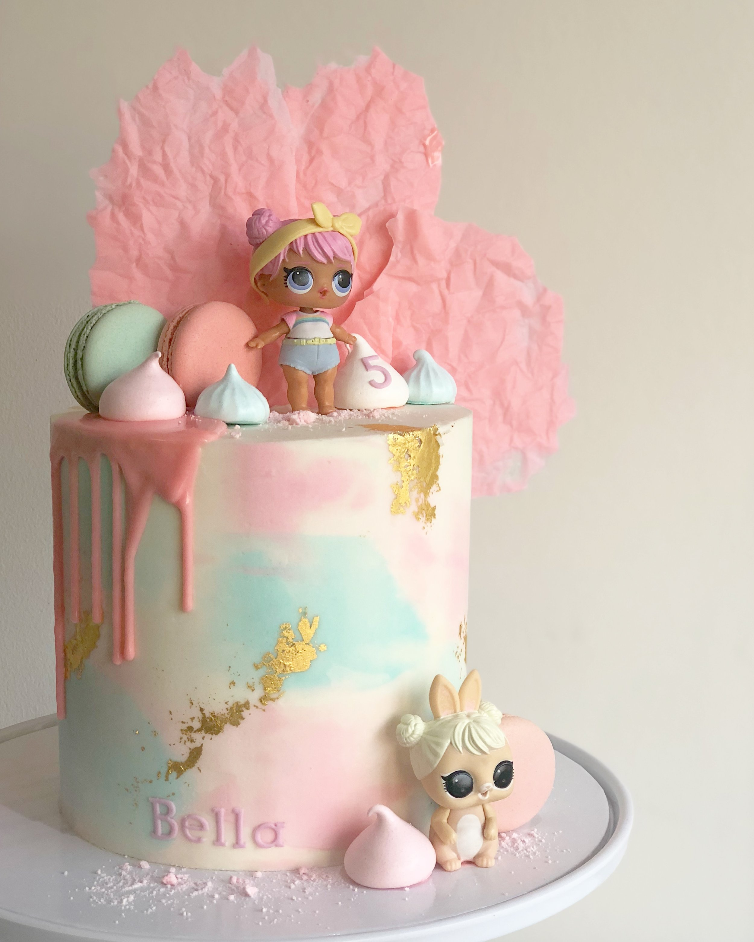 Bella LOL Doll Cake \u2014 Burnt Butter Cakes