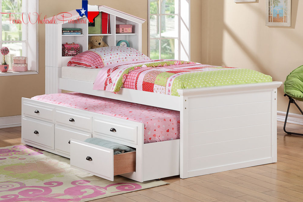 Trundle Bed Set For Girls Texas Wholesale Furniture Co