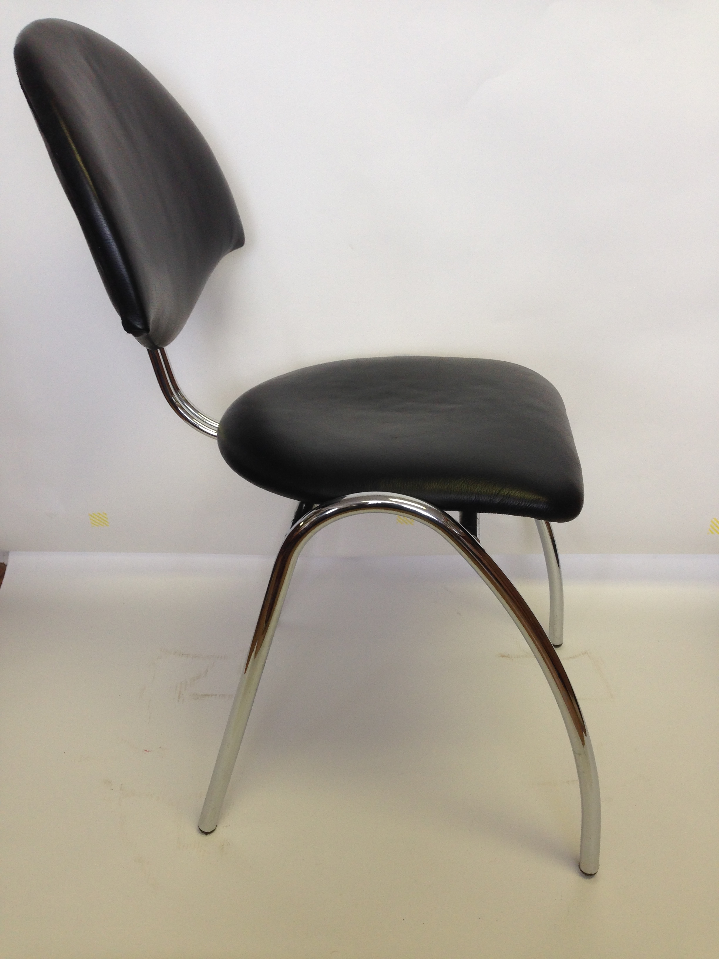 Mid Century Modern Chrome and Leather Chair — Vintage Store - LOVE  Furniture and Design - Ornamental Stonework