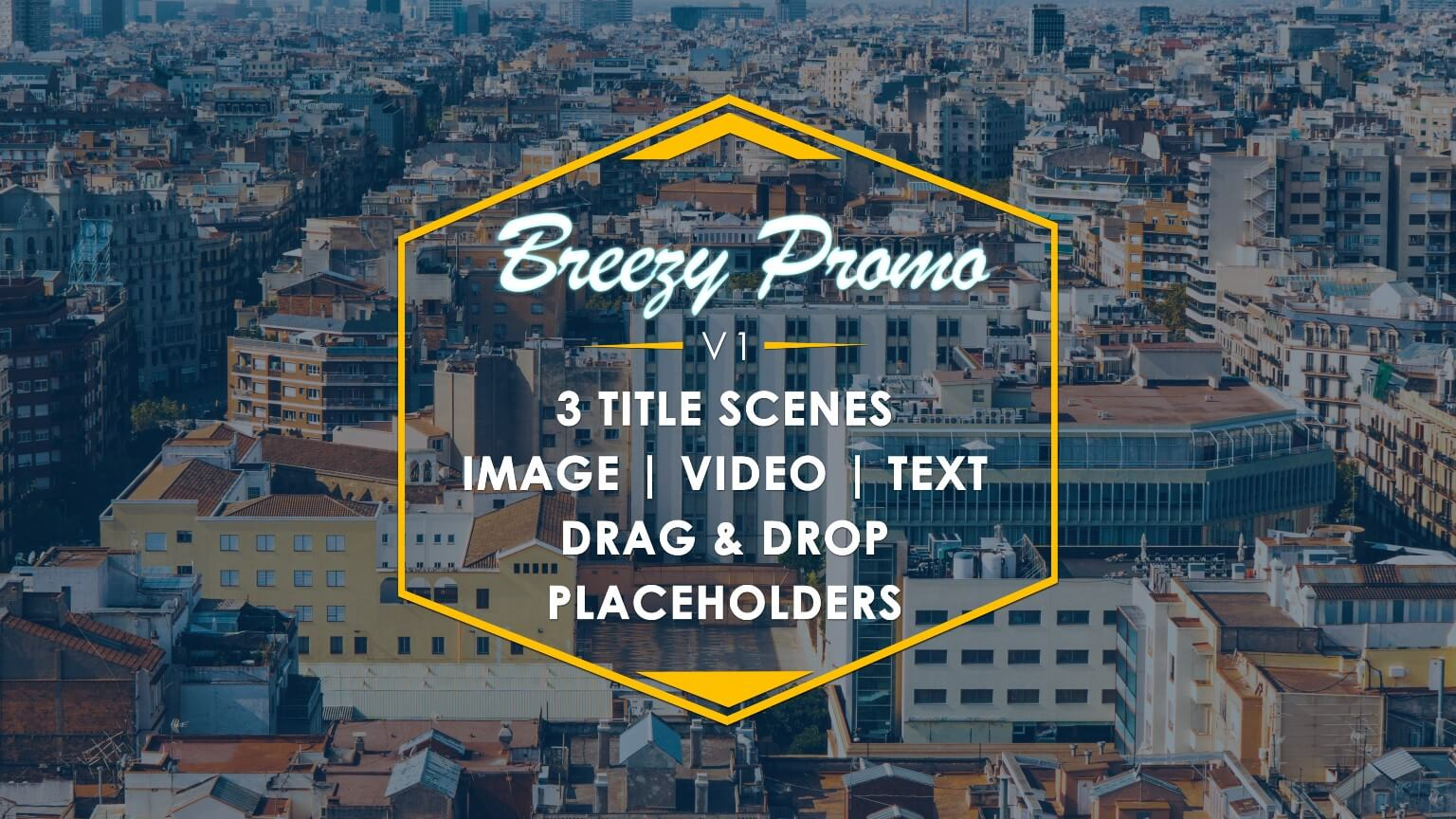 Event Promo After Effects Template: Breezy Promo V1