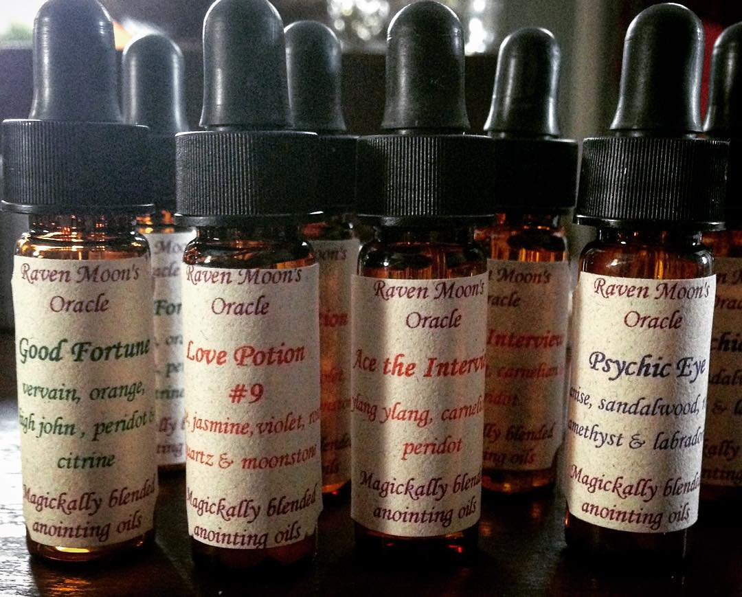 Magickally Blended Ritual Anointing Oils